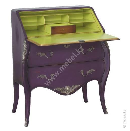 Секретер Louis XV фиолетовый арт.М451