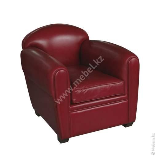 Кресло Bourbon Club красное арт.МС001