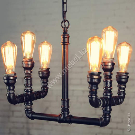 Industrial Chandelier- 6B (№9-1)