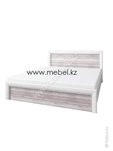 Оливия Кровать 90, вудлайн кремовый/дуб анкона, Анрэкс (Беларусь)