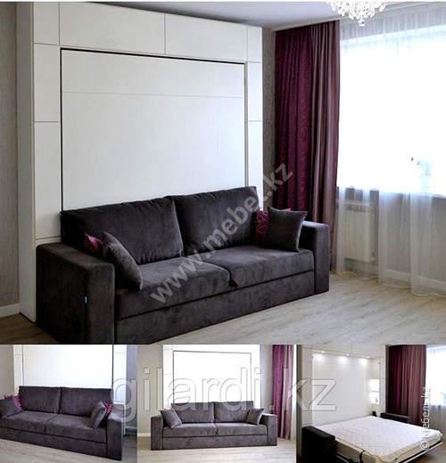 Шкаф-кровать-диван «Флоки»