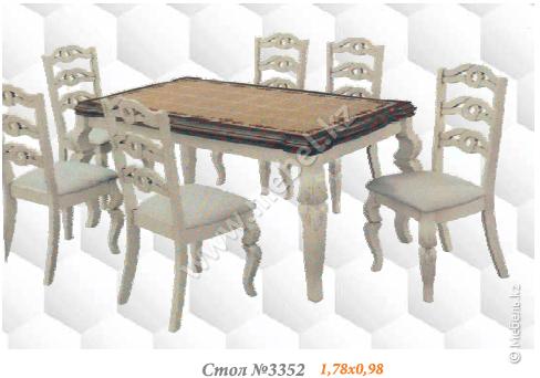 Стол 3352 Кафельный Малайзия