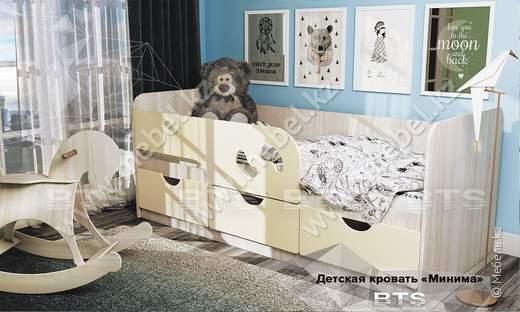 Минима Детская кровать БТС