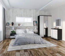 Гретта Онденс Спальня со шкафом СБ-208