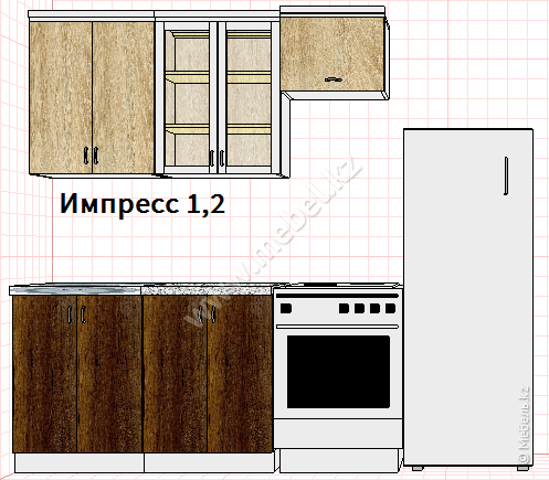 Кухня ИМПРЕССО 1,2
