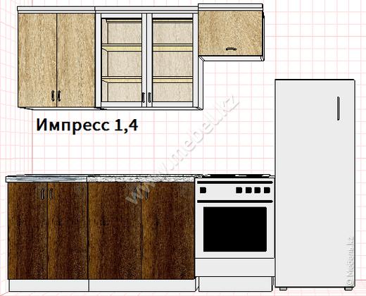 Кухня ИМПРЕССО 1,4