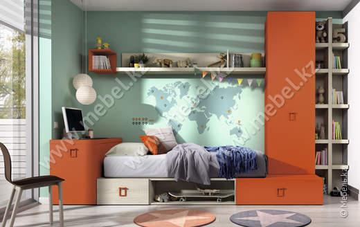 Комплект мебели для детской Kazzano P001