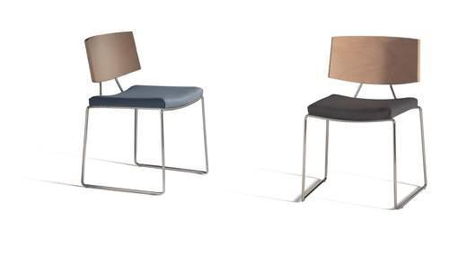 Широкий стул happy 640C