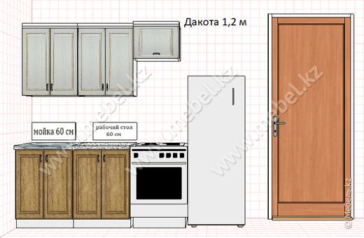 Кухня ДАКОТА 1,2